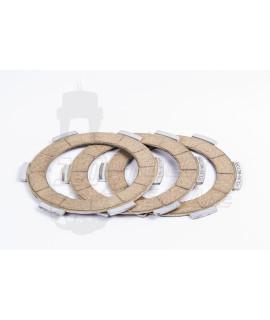 Serie 3 dischi Polini in alluminio rinforzati Vespa 50 Special, 125 Et3, Primavera, 50 L, N, R, PK