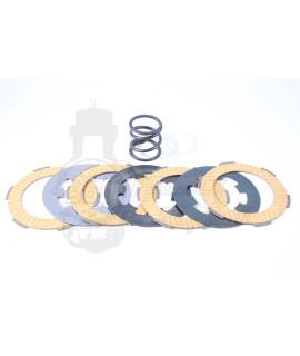 Serie dischi frizione Polini rinforzati Vespa 50 Special, 125 Et3, Primavera, 50 L, N, R, PK.