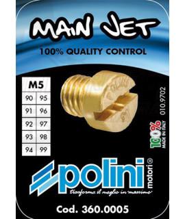 Set 10 getti Dell'orto 5 mm Polini dal 90 al 99