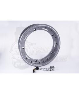 """Cerchio vespa 10"""" Tubeless canale 2.50 grigio metallizzato"""