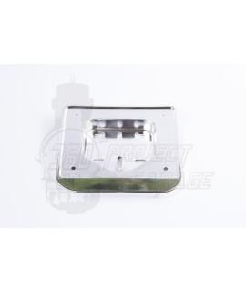 Porta targa vespa 50 Cromato 143x120