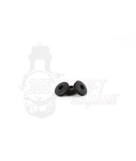 Gommino guarnizione asta rubinetto nero Vespa 50 Special, 125 Et3, Primavera, 50 L, N, R, Elestart