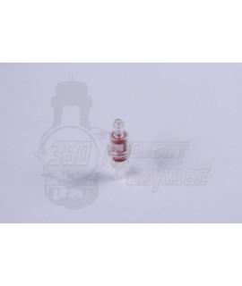 Filtro benzina in plastica D.8 mm