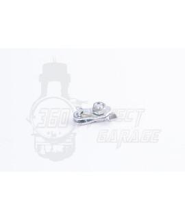Piastrina ancoraggio cavo freno anteriore Vespa 50 Special, Et3, Primavera, PX