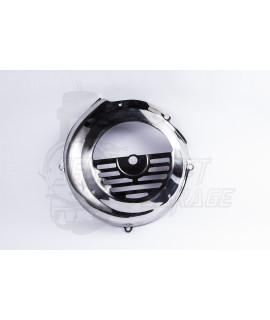 Copri ventola in acciaio inox cromato Vespa 50 Special, 125 Et3, Primavera, 50 L, N, R