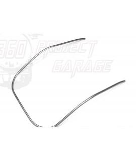 Bordoscudo in alluminio vespa 50 special, 125 Et3, Primavera