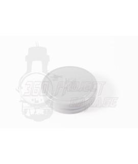 Coperchio tappo manubrio vespa 50 faro tondo grigio
