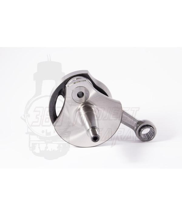 Albero motore tameni anticipato cono 19 mm corsa 51mm, vespa 125 Et3, Primavera