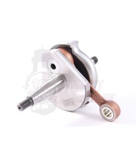Albero motore Tameni anticipato corsa 43 mm, cono 19 mm  Vespa 50 Special, 50 L, N, R