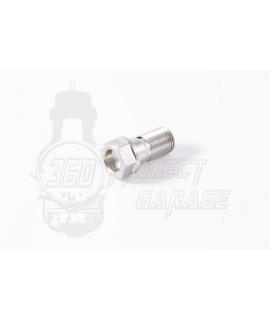 Vite raccordo giunti idraulici freno/ frizione in acciaio M10 x 1,00