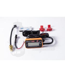 Mini termometro digitale arancione Stage6