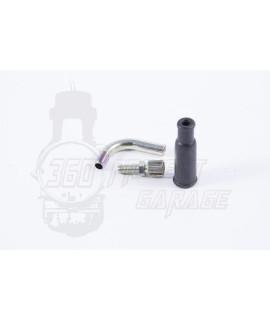 Curva 90° attacco carburatore Dell'orto PHBG, VHST, PHBL, PHBH, PHBE, VHSB,VHSH, PHSB