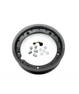 "Cerchio vespa 10"" Tubeless canale 2.50 Carbon Look"