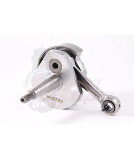 Albero motore Anticipato BGM Pro Racing corsa corta 43 mm, cono 19 mm. Vespa 50 Special, 50 L, N, R, 50 PK