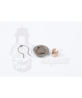 Piattello e pistoncino spingi disco in ottone Vespa Largeframe