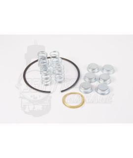 Kit 6 molle, 6 scodellini, anello di chiusura, rasamento Vespa VBB, VBA, Sprint, VNB