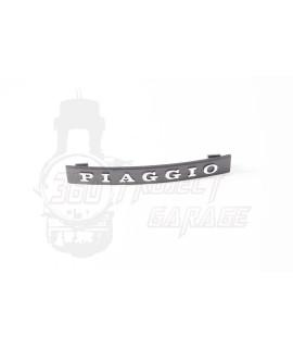 """Targhetta scritta """" Piaggio """" a incastro nasello Vespa PX Arcobaleno"""