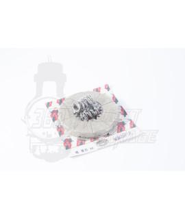 Kit Dischi frizione Vespa VM, VU 3 dischi guarniti, 3 dischi acciaio + 6 molle Surflex