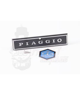 Targhetta e scudetto nasello anteriore Piaggio Vespa PX 125, 150