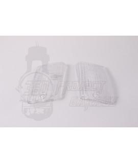 Cristalli posteriori frecce trasparenti bianco vespa PK 50, 125 XL, HP, Rush