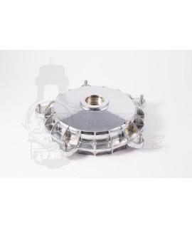 Tamburo posteriore cromato mozzo 30 mm Vespa large frame PX 125, 200, Arcobaleno