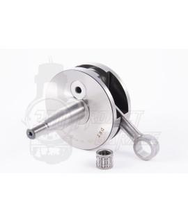 Albero motore DRT Full Circle cono 20 mm,corsa corta 47 mm, interasse biella 90 mm, spalle 85mm