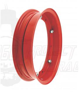 "Cerchio scomponibile 10"" rosso Vespa 50 Special, 125 Et3, Primavera, PX, Rally, PE, Sprint, PK"