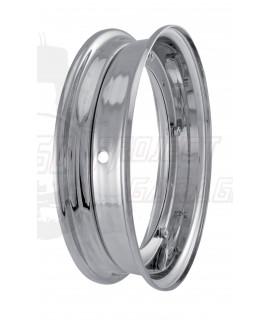 """Cerchio scomponibile 10"""" cromato a specchio Hight Quality Vespa 50 Special, 125 Et3, Primavera, PX, Rally, PE, Sprint, PK"""