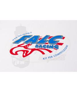 """Adesivo """"Falc Racing"""" 23 x 14"""