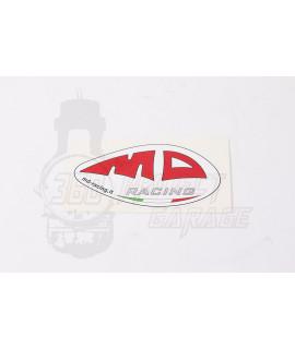 "Adesivo ""MD Racing "" 9 x 5"