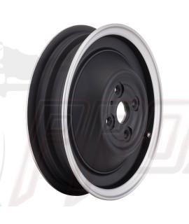 """Cerchio tubeless Sip 2.15 - 10"""" nero con bordo lucidato Vespa 50 L, N, R"""
