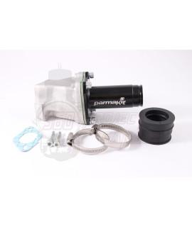 Collettore lamellare 28 - 30 mm Parmakit Vespa smallframe attacco 2, 3 fori