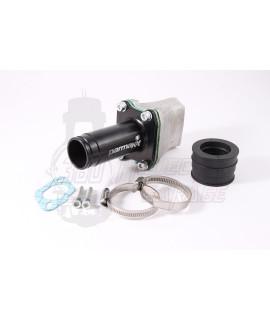 Collettore lamellare 36 mm Parmakit Vespa smallframe attacco 2, 3 fori