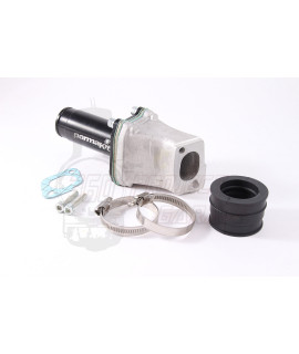 Collettore lamellare 25 mm Parmakit Vespa smallframe attacco 2, 3 fori