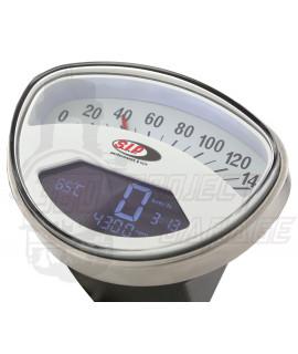 Conta Km 2.0 quadrante bianco Sip Vespa 90 SS, 125 Et3, Primavera, TS, Super, GTS, 150 Sprint, Rally