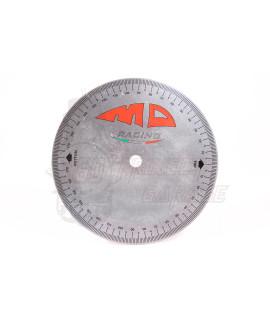 Disco graduato controllo e misurazione fase motore MD Racing