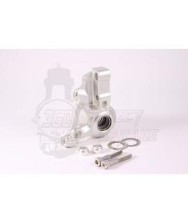 Supporto pinza freno anteriore AF Parts freno a disco Vespa PX, 98', MY, NT 20 mm Tourer CNC anodizzato grigio