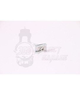 Clip fissaggio pedale freno M6 Vespa su telaio Smallframe, Largeframe universale