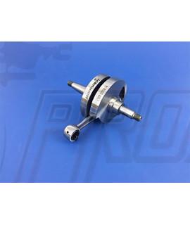 Albero motore anticipato Parmakit corsa 57 mm, biella 105 mm, Vespa 125-150 PX