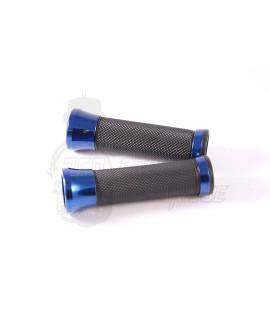 Manopole con guarniture in alluminio anodizzato Blu Stage 6