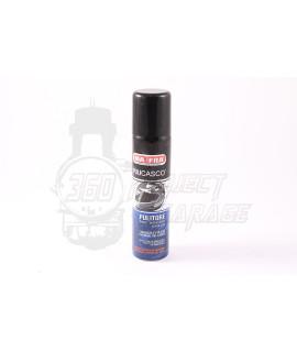 Puliscasco spray per la pulizia interna e igenizzazzione del casco