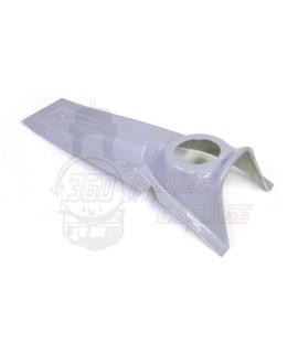 Mascherina in vetroresina anteriore Vespa 125 Et3, Primavera, 50 L, N, R. Stemma esagonale