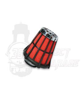 Filtro aria Red Filter imbocco Ø 38 mm Malossi, carburatori Dell'orto PHBL