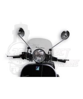 Cupolino parabrezza Sport Screen neutro Malossi, Vespa 125 PX, 150 PX, 200 PX, LML