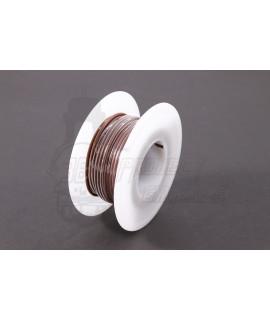 Cavo elettrico 0,85 mm², 10 metri Marrone
