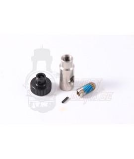 Kit manopola di regolazione leva freno 12,7 mm  radiale, frizione Pompa BGM, Motoforce, Brembo