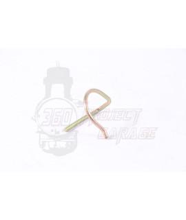 Spillo coppiglia elastica puleggia tupi manubrio Vespa VBB, VNL, Sprint