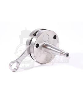 Albero motore FULL CIRCLE DRT ETS Corsa 53 mm, biella 105 mm, cono 20 mm, spalle piene Vespa 125 Et3, Primavera, PK 125
