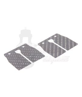 Lamelle in carbonio pacco lamellare RD 350, spessore 0,4 mm