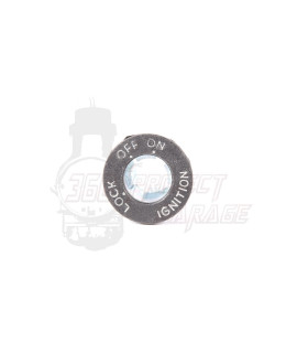 Blocchetto copri serratura Vespa PK50XL, PK 125, PX Arcobaleno